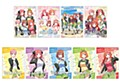 """""""The Quintessential Quintuplets Season 2"""" Clear Card Collection"""