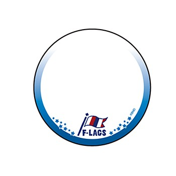 """65mm Decoration Can Badge Cover """"The Idolmaster SideM"""" 14 F-LAGS (Graff Art Design)"""