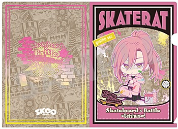 """""""SK8 the Infinity"""" A5 Clear File Cherry blossom Graffiti Ver."""