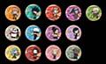 """""""Jujutsu Kaisen"""" Trading Can Badge DIY Deformed Series"""