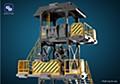 FRESH RETRO 1/24 SCALE DIORAMA BUILDING SET SIB01 WATCHTOWER