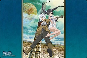 """Bushiroad Rubber Mat Collection V2 Vol. 171 """"Is It Wrong to Try to Pick Up Girls in a Dungeon?"""""""