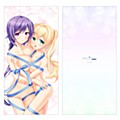 """Summer Pockets REFLECTION BLUE"" Long Cushion Cover Mizuori Shizuku & Tsumugi Wenders"