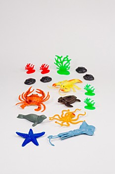 Nature World Sea Creatures Set