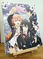 """""""Yahari Ore no Seishun Love-come wa Machigatteiru. Kan"""" Sakura Canvas Panel"""