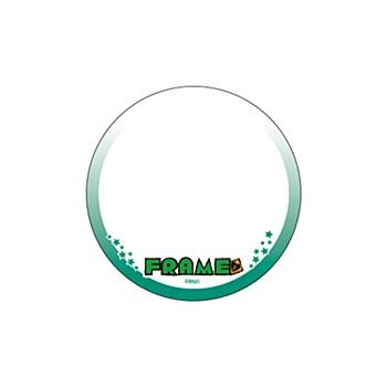 "65mm Decoration Can Badge Cover ""The Idolmaster SideM"" 09 FRAME (Graff Art Design)"
