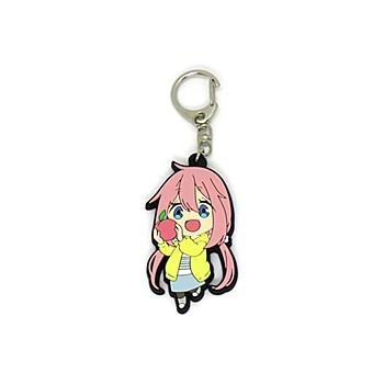 """Yurucamp"" SD Rubber Key Chain Kagamihara Nadeshiko"