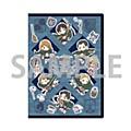"Premium Postcard Holder ""Attack on Titan"" 02 Squad Levi Ver. Blue (Graff Art Design)"