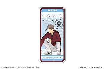 """Haikyu!! To The Top"" Magnet Sheet Vol. 4 06 Miya Osamu"