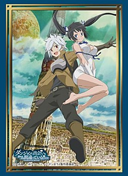 """Bushiroad Sleeve Collection High-grade Vol. 3044 """"Is It Wrong to Try to Pick Up Girls in a Dungeon?"""""""