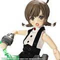 "1/12 Assault Lily Series 060 ""Assault Lily"" Rokkaku Shiori Ver. 2.5 Pla Armor Ver."