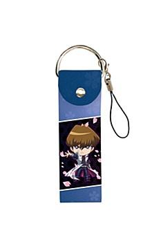 "Big Leather Strap ""Yu-Gi-Oh! Duel Monsters"" 03 Kaiba Seto (Mini Character)"