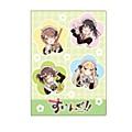 "Premium Postcard Holder ""Swing!!"" 01 Haruka & Ibuki & Natsuhi & Kaede"