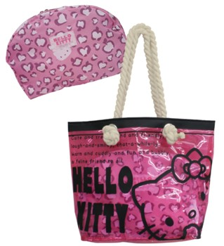 e005b44b1055 Hello Kitty   My Melody Clear Tote Bag with Pouch - MILESTONE Inc ...