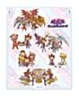 "Deka Chara Mirror ""Yu-Gi-Oh! Duel Monsters"" 02 Group Design Scenes Ver. (Graff Art Design)"