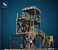 FRESH RETRO 1/24 SCALE DIORAMA BUILDING SET SIB02 GUARD TOWER