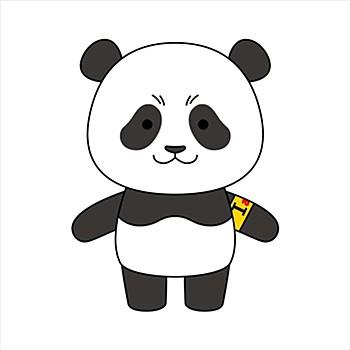 """""""Jujutsu Kaisen 0: The Movie"""" Nuigurumi x Doll Mini Panda"""