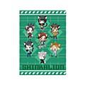 "Premium Postcard Holder ""Shinkalion"" 01 National Cat Day Ver. Group Design (Mini Character)"