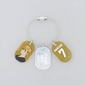 """Haikyu!!"" Triple Acrylic Key Chain Miya Atsumu"