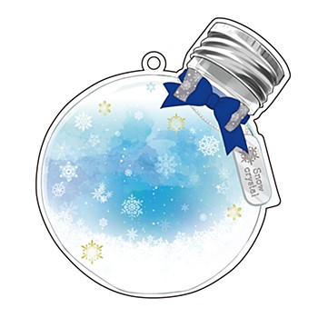 Acrylic Make Up Cover Vol. 4 Crystal of Snow