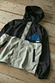 """""""Yurucamp"""" WILDERNESS EXPERIENCE Collaboration Packable Mountain Parka (L Size) Black"""