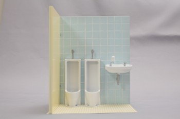 Oretachi no 1/12 scale guy's toilet