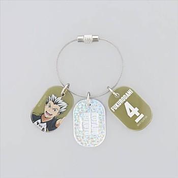"""""""Haikyu!!"""" Triple Acrylic Key Chain Bokuto Kotaro"""