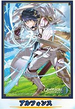 """Fire Emblem Cipher"" Matte Card Sleeve Alfonse No. FE54"