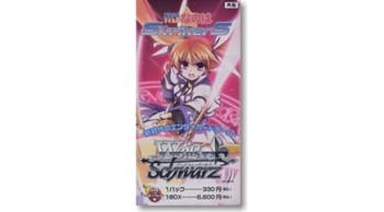 "Weib Schwarz Booster Pack ""Magical Girl Lyrical Nanoha StrikerS"""